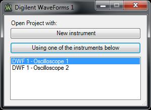 Digilent WaveForms